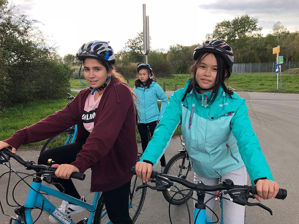 Gut gegen Nordwind – Radfahren auf der Donauinsel