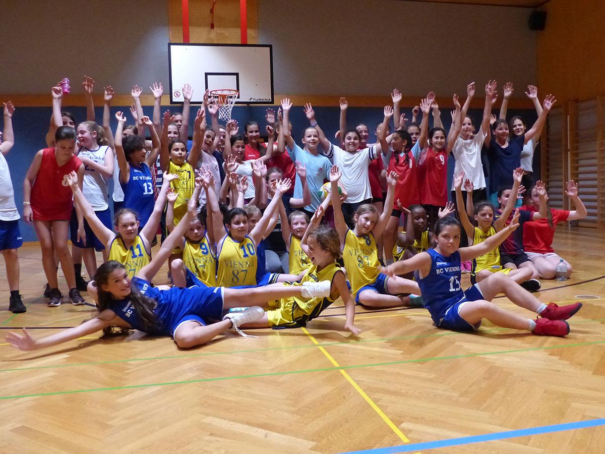 Girls-Basketball-Day in der Friesgasse