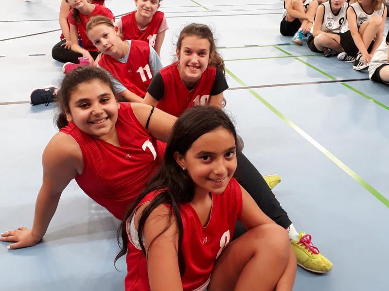 Basketballturnier Schulmeisterschaft 2017/18