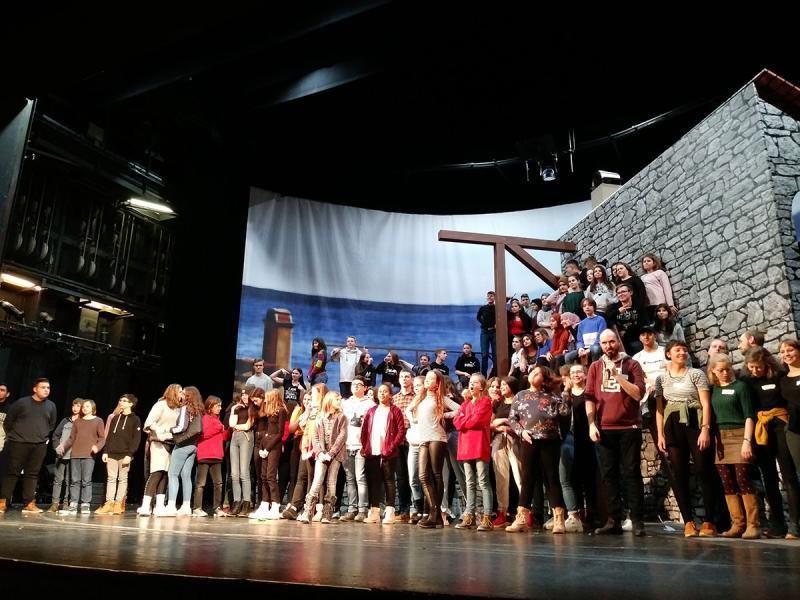 Workshop im Volkstheater (Darstellendes Spiel)