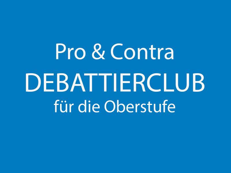 Debattierclub (Oberstufe)
