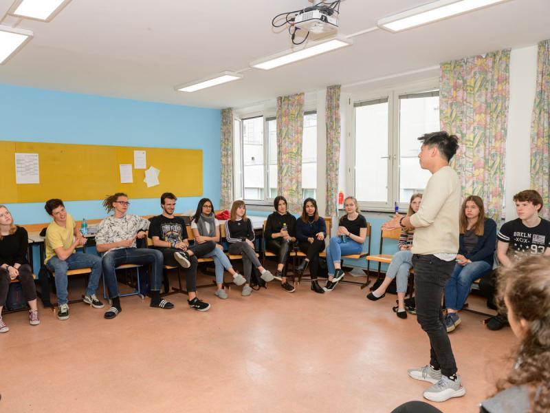 EU-Aktionstag für die 6. und 7. Klassen