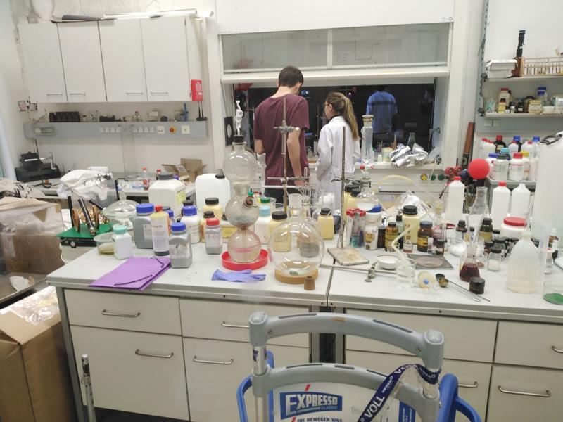 Experimente-Show an der Uni  Wien