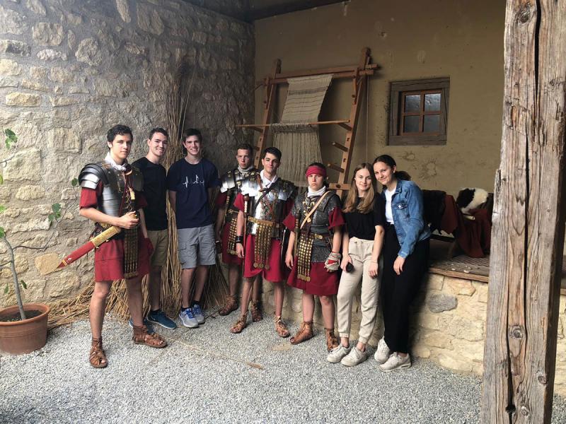 Friesgasse beim Römerfestival in Carnuntum