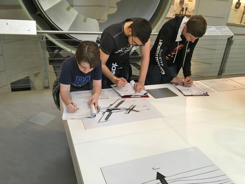 NAWI-Lab im technischen Museum