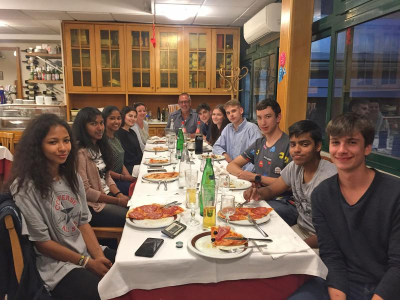 Romreise der 7. Klassen