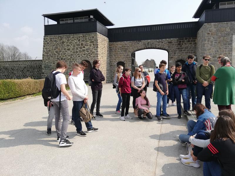 Exkursion ins ehemalige Konzentrationslager Mauthausen