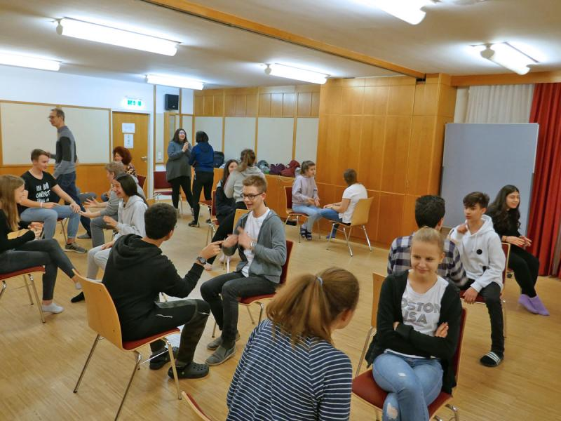 Peer Mediation mittels Improvisationstheater