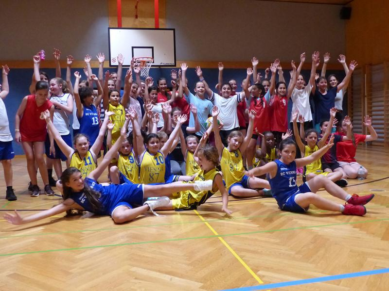 Girls-Basketball-Day in der Friesgasse