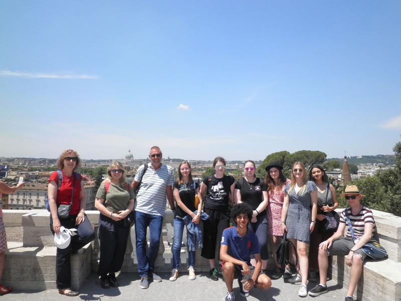 Romreise der 7BC