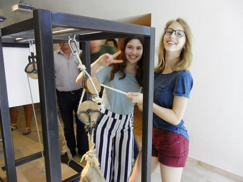 Besuch des Römermuseums in Enns
