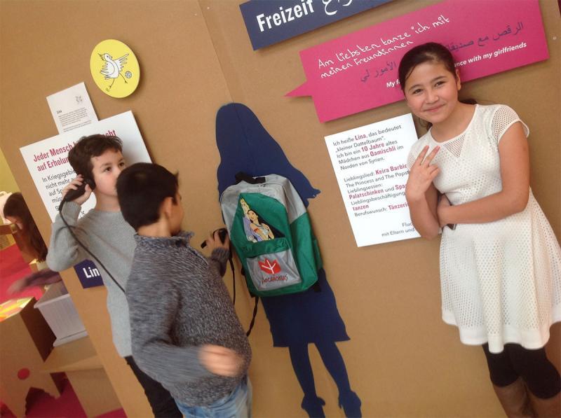 1. Klassen im Zoom Kindermuseum