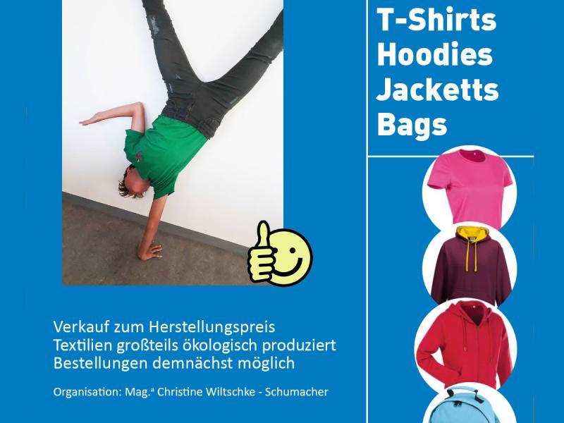 T-Shirts, Hoodies, Jacketts, Bags
